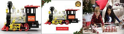 MOTA Classic Holiday Christmas Train Set with Real Smoke - Authentic...