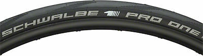NEW Schwalbe Pro One Tubeless Road Tire 700 x 28 Folding Bead Black with OneStar