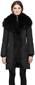 Mackage Black Down Fur Parka Size XXS - LIKE NEW