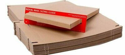 Royal Mail C4 Large Letter - 320 x 230 x 20mm Cardboard Mailing Boxes Pack of 60