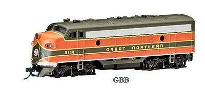 N Scale GREAT NORTHERN F7-A  DCC Equipped Locomotive Bachmann New in Box 63752