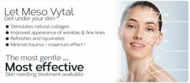 *New and exciting treatment Meso Revitalise needling*