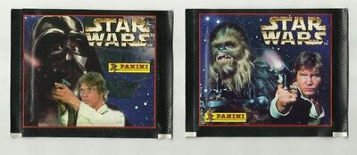 1996 PANINI STAR WARS 2 Different Packets 12 stickers