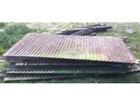 Good used Feather edge fence panels 20+ meters