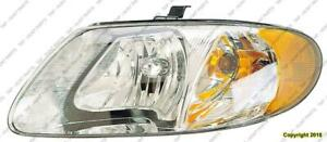 Head Light Driver Side High Quality Chrysler Town & Country 2001-2007