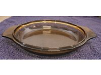 Marks & Spencer Cream Pyerx Dish with Smoked Brown Lid - Harvest