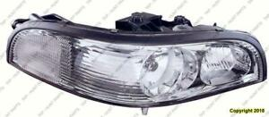 Head Light Passenger Side High Quality Buick Park Avenue 1997-2005