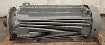 GE GENERAL ELECTRIC AC MOTOR, 5KS513SN2773, 500 HP, 460 VOLTS, 1785 RPM