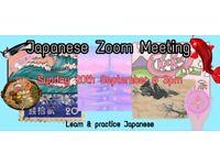 Japanese Zoom Meeting