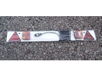 Maypole 4ft Trailer Lighting Board with 7m Cable