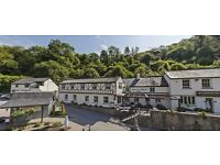 Junior Sous Chef with accommodation in the beautiful Wye Valley £23k per anum