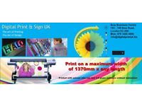 Bow Road Print / Poster, Canvas, Banner, T-shirt, ID Card, Flyers in Two Hours