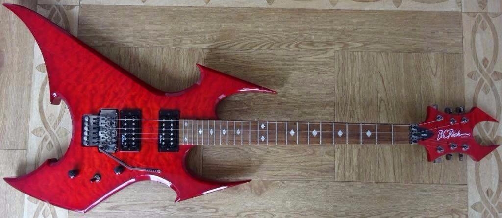 BC Rich 'Beast' NJ Series Electric Guitar (Warlock ... Bc Rich Warlock