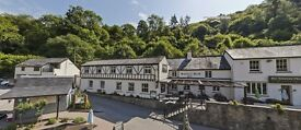 Waiting Staff required at busy riverside inn between Ross on Wye and Monmouth
