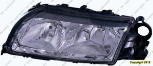 Head Light Driver Side High Quality Volvo S80 1999-2002