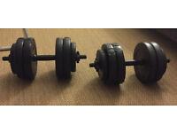 Set of Dumbbells 2 x 15 kg