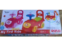 My first ride car