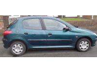 1999 Peugeot 206 1.4 MOT Failure, spares or repair