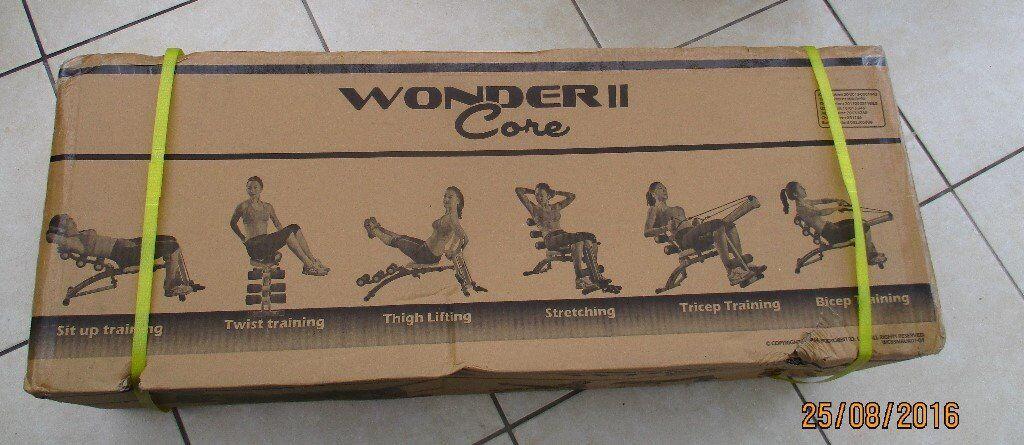 Wonder Core II Abb Fitness Machine Brand New unopeded