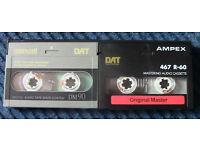 DIGITAL AUDIO (DAT) CASSETTE TAPES