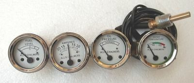Allis Chalmers Tractor Wd45ld15d17 D19 Temp Oil Pressure Fuel Amp Gauge