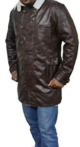 Tom Hardy Batman-Bane Real Leather trench coat