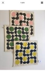 NEW Orla Kiely Cushion Covers + Luxury Feather Inners