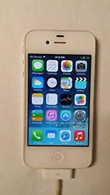 Apple iPhone 4S 8Gb Sim Free Unlocked Mobile Phone - White