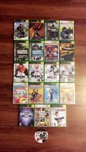 Original Xbox and games for sale.