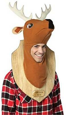 Doe Deere Halloween (Deer Trophy Head Mounted Costume Halloween Taxidermy Stuffed Buck Doe)