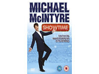 MICHAEL MCINTYRE SHOWTIME LIVE AT THE 02 REGION 2 DVD