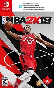 Brand New NBA 2k18 for Switch