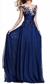 Blue dress size 12-14, brand new never worn, best offer