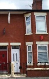 Furnished house, Fallowfield, £680pcm. Kitchen, diner, front room, 2 double bedrooms, gas cent. h.