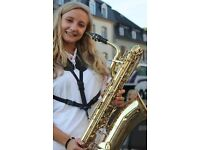 Experienced saxophone teacher