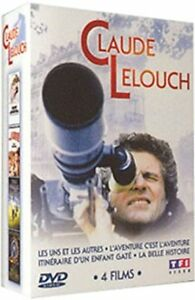 Coffret DVD de films de Claude Lelouch en Zone 2
