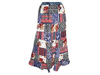 Womens Patchwork Skirt