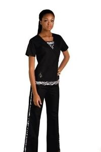 Baby phat scrub outfit