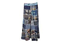 Womens Skirt Multi Color Handmade Tribal Dancing Patchwork Skirt
