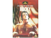 COMPLETE SET OF ROCKY DVDS