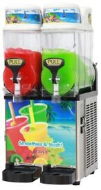 Slush Machine - Twin Barrel - 2 x 12 litre - Brand New
