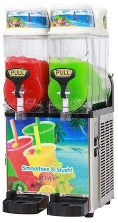 Slush Machine - Twin Barrel - 2 x 12 litre - Brand New