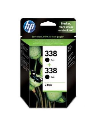 HP 338 Black Twin Pack