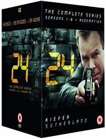 24 - Complete Season 1-8 + Redemption [DVD / Region 2 / 2011] New