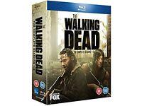 WALKING DEAD BLU-RAY Seasons 1-5 DVD BOXED SET