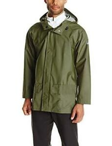 NEW Helly Hansen Workwear Mens Mandal Rain Jacket Condtion: New, Army Green, X-Small