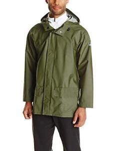 NEW Helly Hansen Workwear Mens Mandal Rain Jacket Condtion: New, Army Green, X-Small