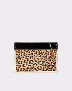 Gorgeous Aldo Shako Leopard Print Clutch/IPad Case