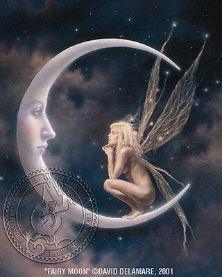 Fairy Moon-Fairy Faery Art -David Delamare (R10-16)