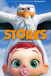 STORKS animated movie DVD